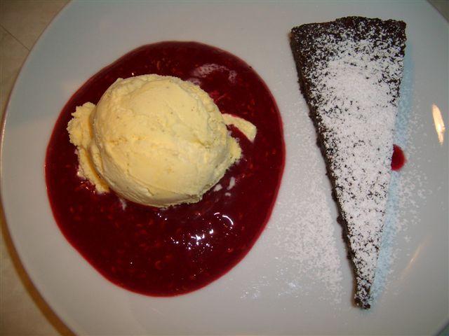 Kladdkaka Dessert, Rezept mit Bild,